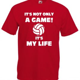 T-SHIRT VOLLEY IS MY LIFE BAMBINO