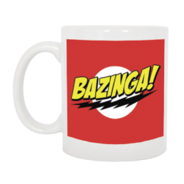 TAZZA BAZINGA BIG BANG THEORY