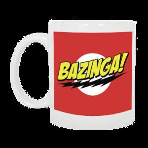 TAZZA BAZINGA BIG BANG THEORY