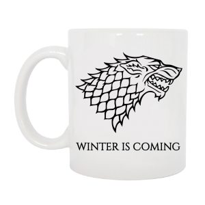 TAZZA STARK GAME OF THRONES
