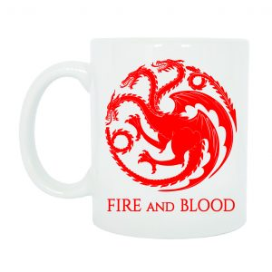 TAZZA TARGARYEN GAME OF THRONES