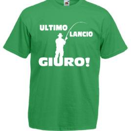 T-SHIRT PESCATORE ULTIMO LANCIO