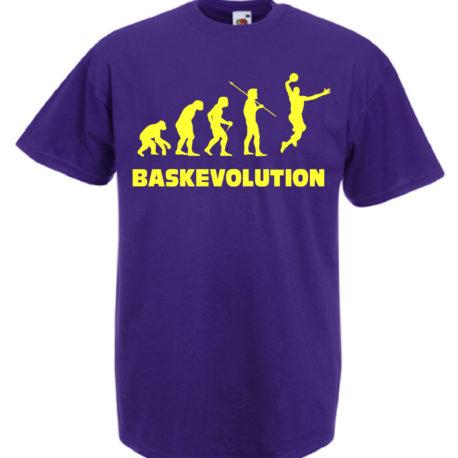 T-SHIRT BASKET EVOLUTION DONNA