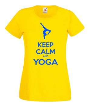 T-SHIRT KEEP CALM YOGA