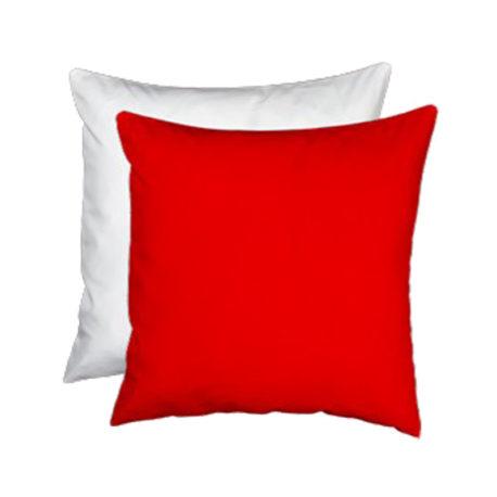 Cuscino personalizzato bicolore