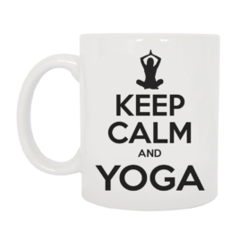 TAZZA KEEP CALM YOGA