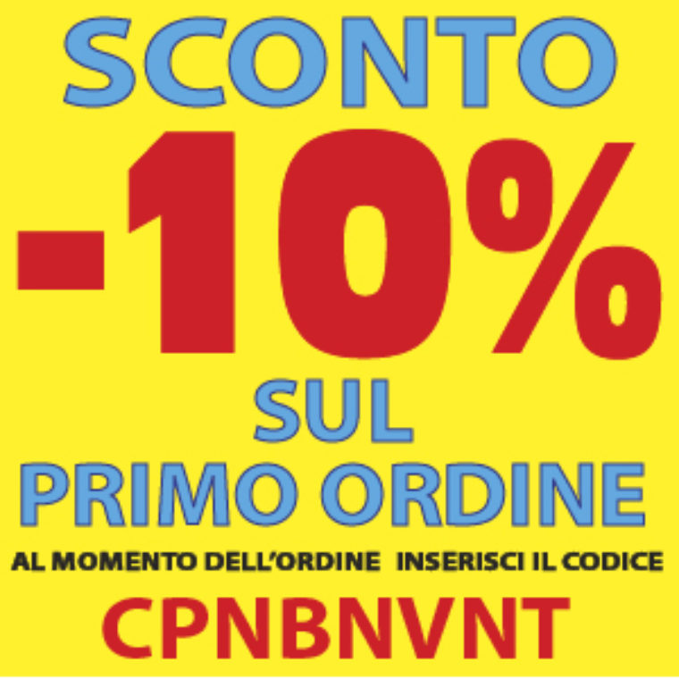 WIDGET coupon primo ordine