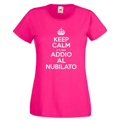 T-SHIRT KEEP CALM NUBILATO
