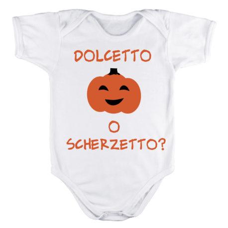 BODY BABY HALLOWEEN ZUCCA DOLCETTO O SCHERZETTO?
