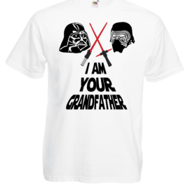 T-SHIRT STAR WARS DART FENER KYLO REN I AM YOUR GRANDFATHER