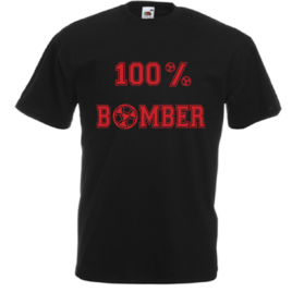 T-SHIRT 100% BOMBER CALCIO BAMBINO