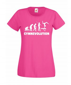T-SHIRT GYMNEVOLUTION DONNA BAMBINA