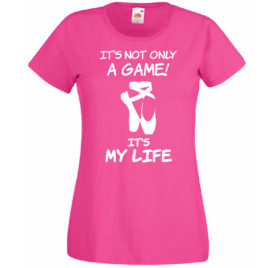 T-SHIRT IT'S MY LIFE DANZA DONNA BAMBINA