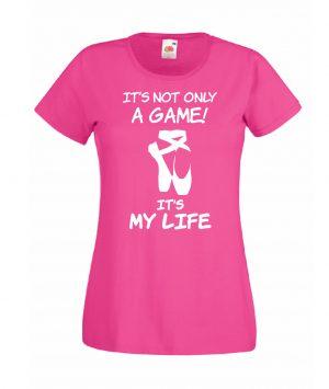 T-SHIRT IT'S MY LIFE DANZA DONNA BAMBINA
