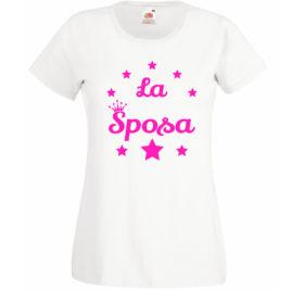 T-SHIRT NUBILATO LA SPOSA