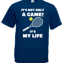 T-SHIRT TENNIS IT'S MY LIFE BAMBINO UOMO