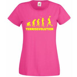 T-SHIRT TENNIS EVOLUTION DONNA BAMBINA