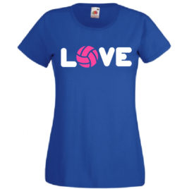 T-SHIRT LOVE VOLLEY DONNA BAMBINA