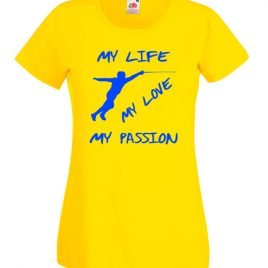 T-SHIRT SCHERMA MY PASSION DONNA BAMBINA