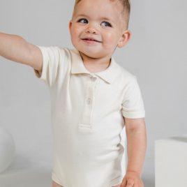 Body Baby a Polo Organic Personalizzato
