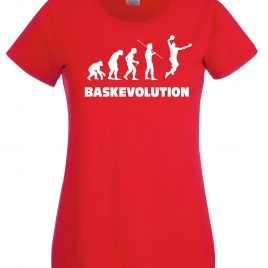 T-SHIRT BASKET EVOLUTION DONNA
