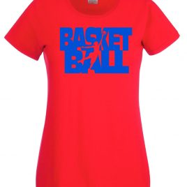 T-SHIRT BASKET BALL DONNA