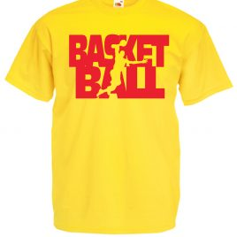T-SHIRT BASKET BALL BAMBINO