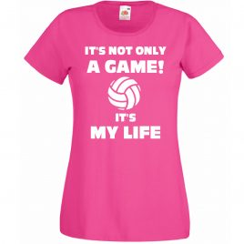 T-SHIRT VOLLEY IS MY LIFE BAMBINA