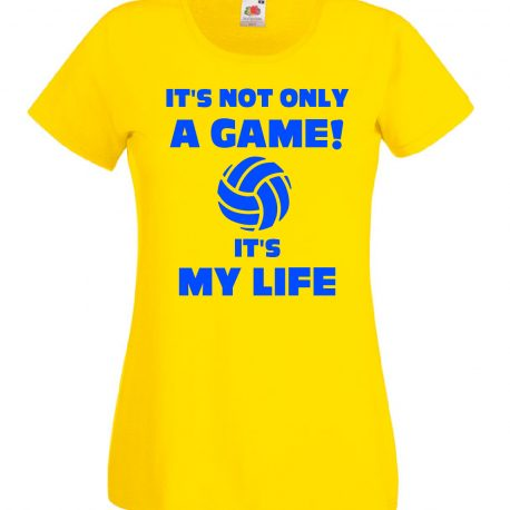 T-SHIRT VOLLEY IS MY LIFE DONNA