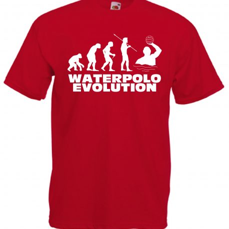 T-SHIRT WATERPOLO EVOLUTION BAMBINO