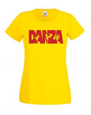 T-SHIRT DANZA DONNA