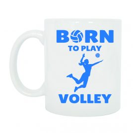 TAZZA BORN TO PLAY VOLLEY DONNA