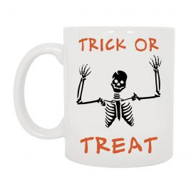 TAZZA HALLOWEEN SCHELETRO TRICK OR TREAT