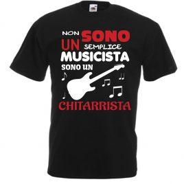 T-SHIRT CHITARRISTA ROCK UOMO BAMBINO