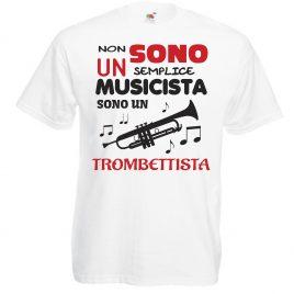 T-SHIRT TROMBETTISTA MUSICISTA UOMO BAMBINO