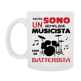 TAZZA BATTERISTA MUSICISTA ROCK