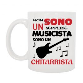 TAZZA CHITARRISTA ROCK MUSICISTA