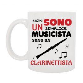 TAZZA CLARINETTISTA MUSICISTA
