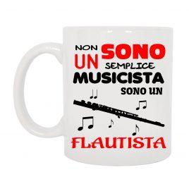 TAZZA FLAUTISTA MUSICISTA