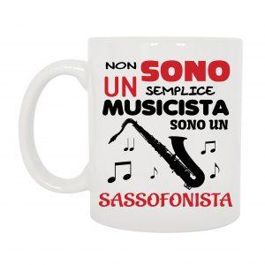 TAZZA SASSOFONISTA MUSICISTA