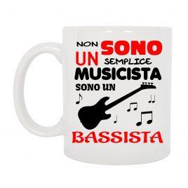 TAZZA BASSISTA MUSICISTA